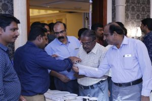 Product launch ceremony