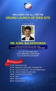 CEF Website Launch